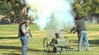 Civil War Fresno, CA Oct 20 2019 Kearney Park 30th year of Civil War Revisited