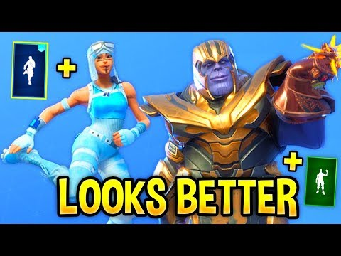These Fortnite Dances Look Better With These Skins..! (LOOKS & SOUND BETTER)