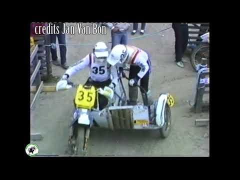 sidecarcross grandprix Finland / Salo 24/5/1987