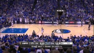 San Antonio - Dallas 111-113: Spurs with 6 men on the floor in a wild almost comeback
