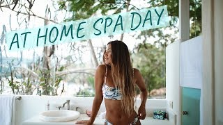 At Home Spa Day | Self Care & Pampering