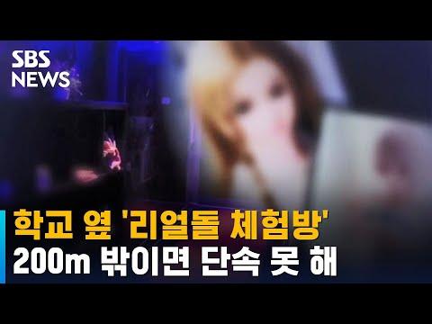 학교 옆 '리얼돌 체험방'…200m 밖이면 단속 못 해 / SBS