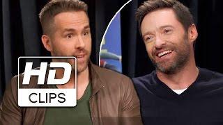Voando Alto   Ryan Reynolds entrevista Hugh Jackman   Legendado HD