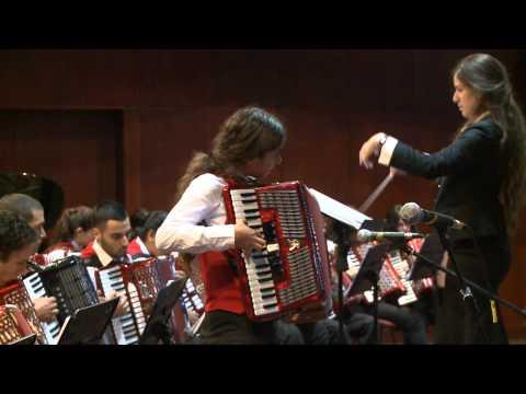 Accordion Orchestra- Italian Tune Carnival in Venice.