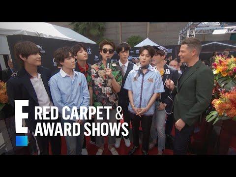 BTS Reveals Number One Social Media Rule | E! Red Carpet & Live Events