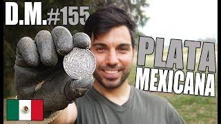 Buscadores de TESOROS encuentran PLATA MEXICANA 🇲🇽 con detector de metales - Detección Metálica 155