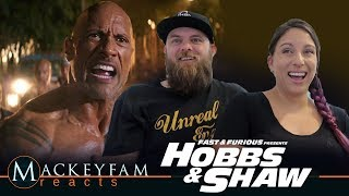 Fast & Furious Presents: Hobbs & Shaw - Official Trailer #2- REACTION and REVIEW!!!