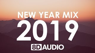 New Year Mix 2019 | Best of Pop Hits (8D AUDIO) - YouTube