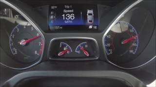 2017 Focus RS Top Speed Run! 0-150 MPH Acceleration Test! August 2016
