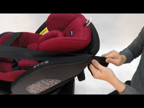 video SWEET CHERRY ST3 SCR18 ISOFIX CAR SEAT