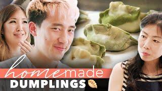 Mom's Dumpling Recipe Vs. Restaurant Dumplings • Homemade