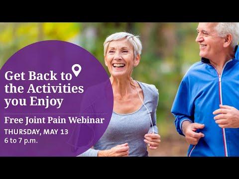 Joint Pain Webinar - 5-13-2021