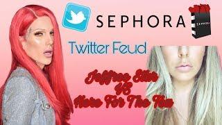 Jeffree Star VS Here For The Tea (HFTT) **Twitter Feud** Sephora Privacy Leak