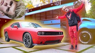 THE NEW RED MAVERICK CAR! **pranked by Jakey**