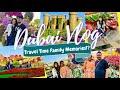 Dubai Travel Vlog with Family!? Global Village,Miracle Garden How we travelled Dubai Throwback 2019 