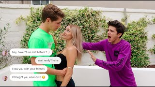 """CATFISHING my Little Sister's """"Boyfriend.."""" (YOU WONT BELIEVE THIS)   Brent Rivera"""