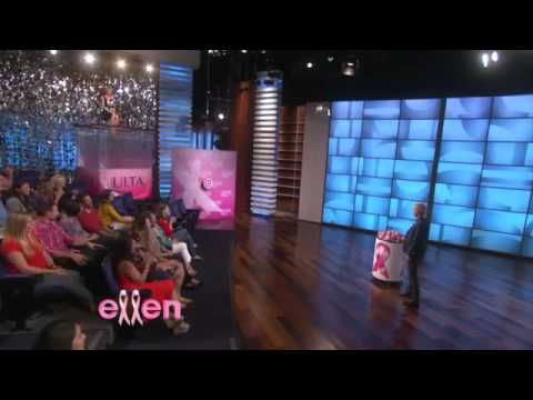 Portia De Rossi  wears Bibhu Mohapatra on the Ellen Show