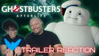 GHOSTBUSTERS: AFTERLIFE - MINI-PUFTS CHARACTER REVEAL TRAILER REACTION!!