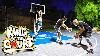 1v1 King of the Court Basketball vs. NBA 2K19 YouTubers