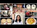 Indian Mom Evening to Night Routine || Bread Halwa || Mushroom Pulao || Banana Dry fruits Milk shake