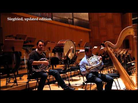 This French Horn Duet Features A Surprising Solo