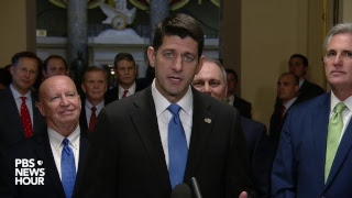 WATCH: House Speaker Paul Ryan and Rep. Kevin Brady speak after passage of House tax bill