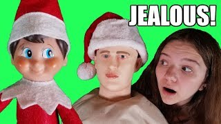 Elf On The Shelf Made Dummy Jealous!