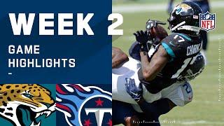 Jaguars vs. Titans Week 2 Highlights | NFL 2020