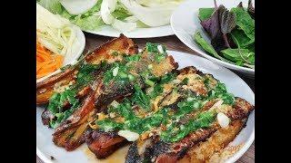 CÁ NƯỚNG SA TẾ  - Cách ướp và làm Cá nướng Sa tế cuốn Bánh Tráng by Vanh Khuyen