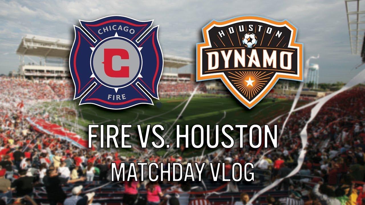 CHICAGO FIRE VS HOUSTON DYNAMO - 2018 MLS MATCHDAY VLOG #cf97