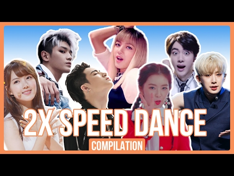 KPOP 2X SPEED DANCE COMPILATION (Part. 1) | BTS, KARD, NCT 127, Red Velvet, BLACKPINK, and more