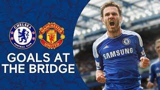 Best Chelsea Goals v Manchester United at Stamford Bridge | Zola, Mata 🔥 | Chelsea Tops