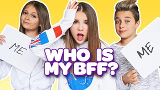 WHO KNOWS ME BETTER? My BOYFRIEND vs BFF **FUNNY Challenge**💕🤷🏼♀️  Piper Rockelle