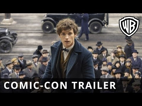 Fantastic Beasts and Where to Find Them – Comic-Con Trailer