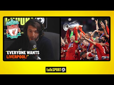 """'EVERYONE WANTS LIVERPOOL!"""" Andy Goldstein makes a BIG claim about Liverpool & the Champions League!"""