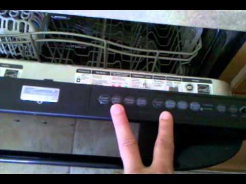 Kenmore Elite Dishwasher Blinking Light Control Board Fix