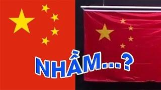 Lá Cờ Trung Quốc Bị Nhầm Lẫn tại Olympics Rio