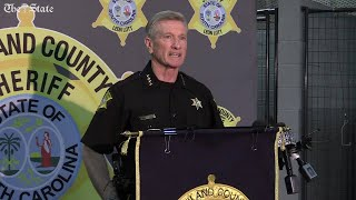 Sheriff Leon Lott says man in viral video has been arrested