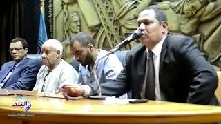 صدى البلد   بدء تأبين الراحل رضا غنيم في نقابة الصحفيين ...