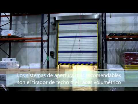 Instant Roll ECO - Puertas para cámaras frigoríficas - Angel Mir (Portes Bisbal SL)