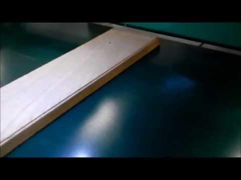 BERMA Macchine - Wood parts marking on fly - Marcatura al volo di pezzi in legno