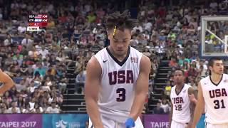 Carsen Edwards USA (Purdue) Highlights vs Israel 36 PTS: 2017 Summer Universiade (8.27.2017)