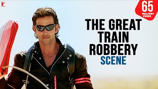 Scene: The Great Train Robbery | Dhoom:2 | Hrithik Roshan