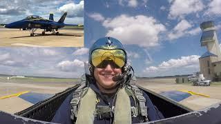 My Blue Angels Ride Along Flight