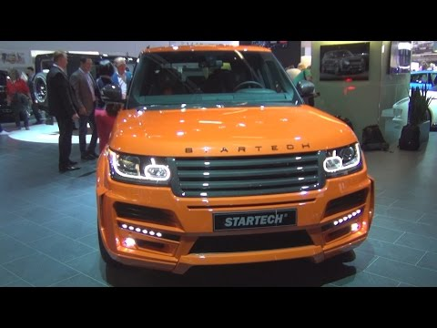 Land Rover Range Rover Pick Up 3.0 V6 SC Startech (2016) Exterior and Interior in 3D