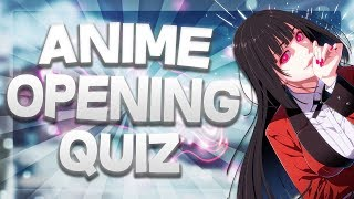 ANIME OPENING QUIZ | 30 SONGS [EASY - HARD]