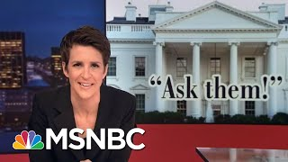 Robert Mueller Memo On Flynn Shows Cooperation On Three Investigations   Rachel Maddow   MSNBC