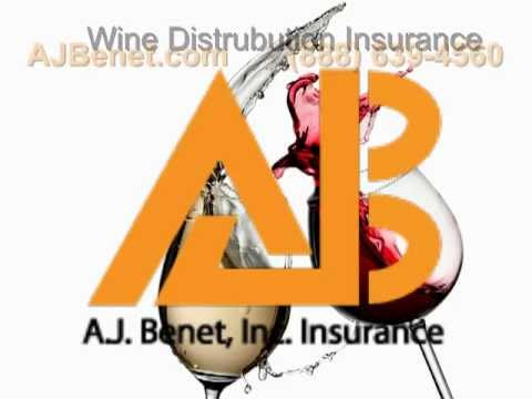 A.J. Benet | Wine Distribution Insurance |