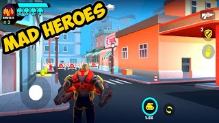 MAD HEROES Gameplay [ Mad Heroes Battle Royale Shooter ]