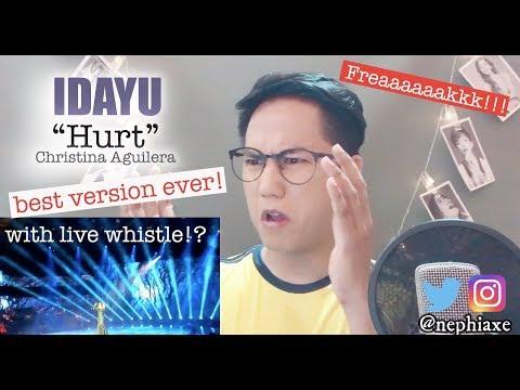 IDAYU Afmegastar  - Hurt | REACTION